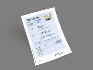 Erfolgreiche Zertifizierung (Bildquelle: Grafe)