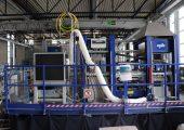 Der Laser wurde in die bestehende Anlagentechnik integriert. (Bildquelle: IKV)