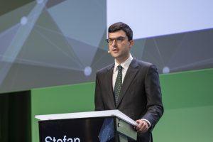 """""""Die digitale Transformation steht erst am Anfang"""", konstatierte Engel-CEO Dr. Stefan Engleder auf dem Inject 4.0 Forum in Linz. (Bildquelle: alle Engel)"""
