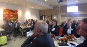 Mitglieder der Fachgruppe Polyurethane des Fachverbandes Schaumkunststoffe und Polyurethane FSK auf der 56. Fachgruppensitzung bei Dow Deutschland Anlagengesellschaft in Ahlen (Bildquelle: FSK)