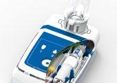 Die Kernkompetenz von Sensile Medical besteht in der Entwicklung und Herstellung von Mikropumpen für die hochpräzise Dosierung und Verabreichung von flüssigen Arzneimitteln. Im Bild  ein Dosiergerät des Unternehmens mit einer Mikropumpe. (Bildquelle: Siemens)