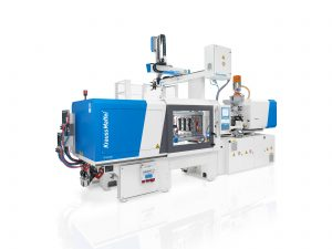 Aufgrund der großen Nachfrage hat Krauss Maffei die Produktionskapazitäten für die vollelektrischen Spritzgießmaschinen-Baureihe PX an den Standorten Sucany in der Slowakei und in München erweitert. (Bildquelle: Krauss Maffei)