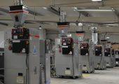 Fünf der sieben LPD Trockner bei R&D/Leverage (Bildquelle: alle R&D/Leverage)