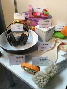 Biokunststoffe sind für Spiel- und  Haushaltswaren ebenso geeignet wie für  High-Tech-Produkte. Bildquelle: Dr. Etwina Gandert/Redaktion Plastverarbeiter