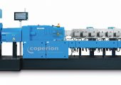 Der Hochleistungs-Doppelschneckenextruder ist speziell für das Compoundieren von Technischen Kunststoffen optimiert. (Bildquelle: Coperion)