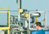 Auf der Messe wird eine vollautomatisierte Produktionsanlage zur Herstellung von Flaschenausgießern gezeigt. (Bildquelle: Dr. Boy)