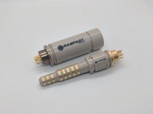 Drehbare HPHT-Steckverbinder zum Schutz wertvoller Sensoren in Bohrgeräten (Bildquelle: Victrex)