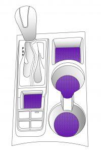Typische Anwendungen von Dryflex Automotive Interior TPE: Einlegematten und HVAC-Komponenten Bildquelle: Hexpol TPE