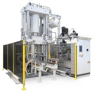 Die Composite-Forschungspresse arbeitet mit einer Presskraft von bis zu 3.000 kN. (Bildquelle: alle Wickert)