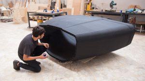 BU1: 3D-druckfähiges Luvocom 3F PA im Einsatz für den Bootsbau (Bildquelle:© Ocore)