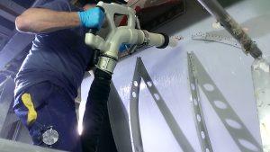 Das Reinigungssystem ist sowohl für eine automatisierte als auch manuelle Reinigung geeignet.