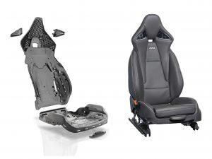Sitzschale und Rückenlehne Grivory GVL HP. (Bildquelle: Ems Grivory)