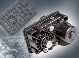 Universeller Turboaktuator Grivory HTV. (Bildquelle: Ems-Grivory)