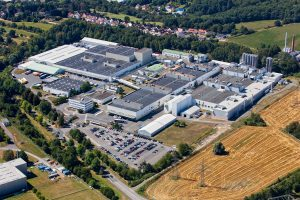 Die größte Produktionsstätte von Treofan ist in Neunkirchen.