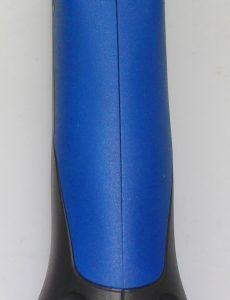 Handgriff eines Schutzgasschweißgerätes: schlierenfrei mit Einsatz der Mischdüse (Bildquelle: Promix)