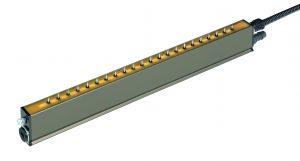Die neue Elektrode mit der integrierten Luftführung sorgt für sehr gute Entladeergebnisse bei geringen wie höchsten Geschwindigkeiten. (Bildquelle: Eltex)