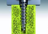 Materialschonendes Gewindeprägen durch elastische Umformung im Tubus (Bildquelle: Ejot)