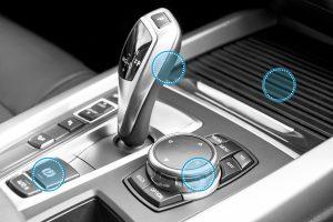 Thermoplastische Elastomere für  Automobil-Interieur-Anwendungen. (Bildquelle: Kraiburg TPE)