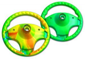 Die Simulationssoftware ermöglicht für PU Chemisches Schäumen weitaus präzisere Vorhersagen bezüglich der Zellgröße und -dichte sowie des endgültigen Bauteilgewichts. (Bildquelle: Simpatec)