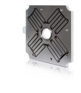 Die Magnetspannplatten sind für Temperaturen bis 80 °C, 120 °C oder 240 °C konzipiert. (Bildquelle: Römheld Rivi)