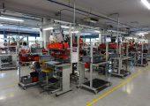 Blick in die Montage des Mechatronik-Herstellers (Bildquelle: Barnes)