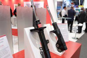 Neue, gewichtsoptimierte Stoßdämpfergeneration (Bildquelle: KYB Europe)