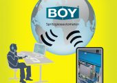 Kommunikationsmodell Remote-Service (Bildquelle: Dr. Boy)