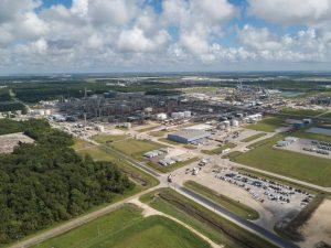 Blick auf den Covestro Standort in Baytown, USA (Bildquelle: Covestro)