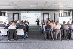 Die englischsprachigen Fachvorträge fanden in den neuen Seminarräumen des Verwaltungsgebäudes statt. (Bildquelle: Günther)