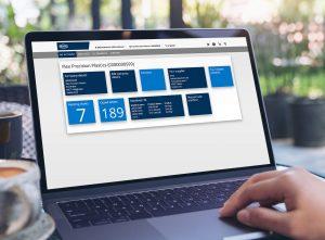 Die E-Service-Platform bietet den Maschinenbetreibern zeit- und ortsunabhängig zahlreiche Servicefunktionen wie den Zugang zu maschinenspezifischen Dokumenten, die 3D-Ersatzteilfinder mit direkter Bestellauslösung oder das integrierte Ticket-System. (Bildquelle: Netstal)