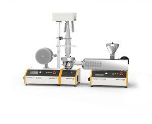 Flachfolienanlage mit Online Rheologie und Kamera-Inspektionssystem (Bildquelle: Collin)