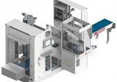 IML-Anlage: kompakte Abmessungen im geschlossenen Zustand (Bildquelle: Wittmann)
