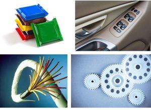 Auf der Fakuma wurden fortschrittliche Lösungen bei flexiblen Verpackungen, Fahrzeuginterieur und Motorraumkomponenten, Draht- und Kabelummantelung, Zahnrädern für Hausgeräte und anderen Verschleißteilen gezeigt. (Bildquelle: Dow)