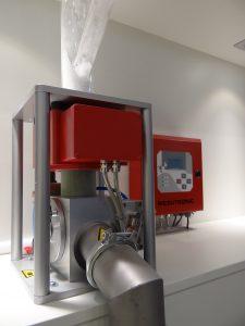 Metallseparator für Granulat, Mahlgut und Pulver. (Bildquelle: Simone Fischer/Redaktion Plastverarbeiter)