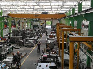Blick in die Produktionshalle von Simoldes Tool Division (Bildquelle: alle Ralf Mayer/Redaktion Plastverarbeiter)