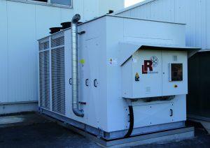 Propan-Kälteanlagen werden sich neben Anlagen mit HFO-Medien dauerhaft in der Kunststoffverarbeitung etablieren. (Bildquelle: L&R Kältetechnik)