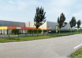 Modell des geplanten Werkes in Izernore (Bildquelle: Lifocolor)