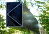 Struktur aus Kohlefaser-verststaerktem Stein - stabil wie Stahl, leicht wie Aluminium, energiesparend in der Herstellung (Bildquelle: Kolja Kuse/e5/TUM)