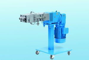 Die Coperion Seitenbeschickung ZS-B mit Feed Enhancement Technology steigert das Material-Aufnahmevermögen bei der Verarbeitung einzugsbegrenzter Produkte um das bis zu Dreifache. (Bildquelle: Coperion)