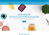 Newsroom Kunststoffverpackungen. (Bildquelle: IK/Plastics Europe)