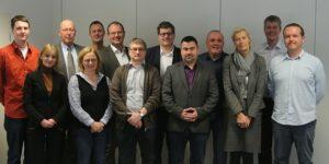Die Teilnehmerinnen und Teilnehmer der Sitzung des GKV-Ausschusses Bildungspolitik und Berufsbildung am 24. Januar 2019 in Frankfurt am Main (Bildquelle: pro-K)