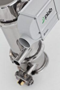 Die Hochleistungs-Vakuumpumpe sorgt für kontinuierlichen Materialfluss. (Bildquelle: Piab)