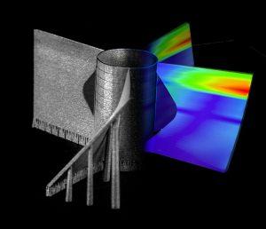 Simulation der 3D-Druck-Software (Bildquelle: Materialise)