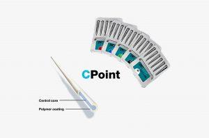 C-Points werden in unterschiedlichen Durchmessern bis maximal 1 mm gefertigt.