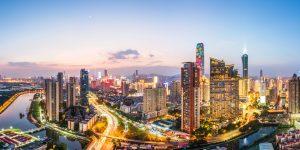 """Die Wirtschaftsmetropole Shenzhen gilt als das """"Silicon Valley"""" von China. (Bildquelle: Covestro)"""