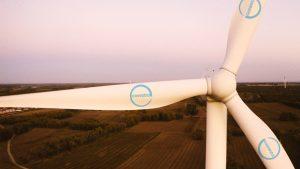 Windanlagen-Flügel aus PUR-Harz in Tieling, China. (Bildquelle: Covestro)