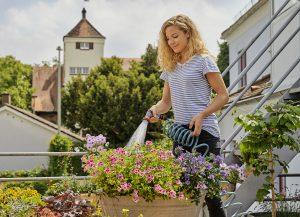Der City Gardening Schlauch von Gardena erhielt einen Gold-Award. (Bildquelle: Gardena)