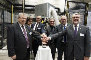Offizielle Inbetriebnahme des neuen Bewegungssimulators in Weißenburg.