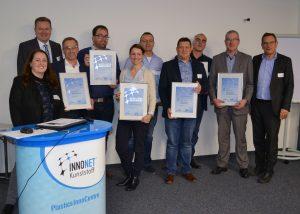 Starthilfe für Newcomer im Netzwerk: Beim ersten Treffen des INNONET Kunststoff im neuen Jahr präsentierten sich die neuen Netzwerkmitglieder. (Bildquelle: WFG Nordschwarzwald)