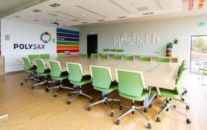 """Gewinnung von Fachkräften für die Kunststoffindustrie ist das Ziel von Polysax Kunststoff auf der Messe """"Karriere Start"""". (Bildquelle: Polysax)"""